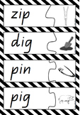 Word and Picture Match - CVC words