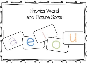 Word and Picture Phonics Sorts
