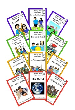 Word by Word Illustrated Graded Readers (FREE SAMPLE)
