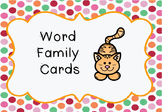 Word families!