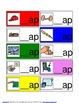 Word families file folder activity - beginnings