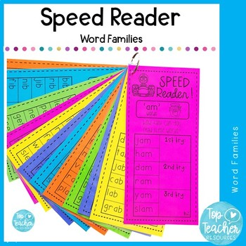 Word family Speed Readers