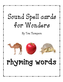 Word family/rhyming packet for Wonders