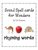 Word family/rhyming packet for Wonders