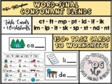 Word-Final Blends Phonics/Language/Speech Activity