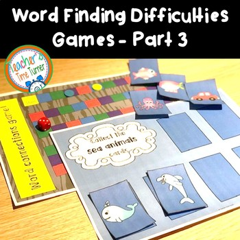 Word finding difficulties and word retrieval difficulties
