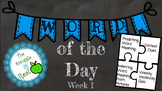 Word of Day Week 1