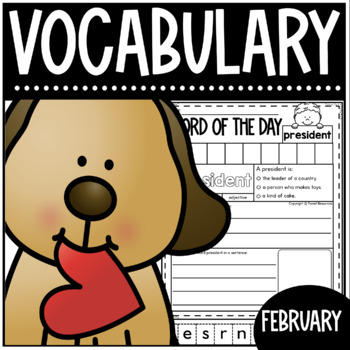 February Word Of The Day {Dictionary Skills}