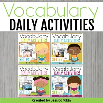 Vocabulary Activities- Word of the Day Bundle