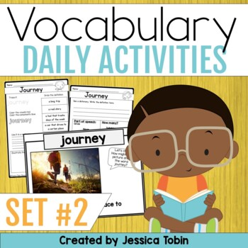 Vocabulary Activities- Word of the Day Set 2