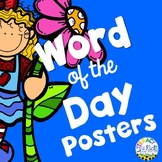 Word of the Day Vocabulary Posters