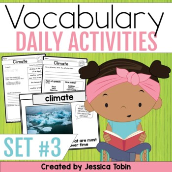 Vocabulary Activities- Word of the Day Set 3