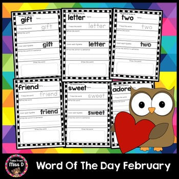 Word of the Day February