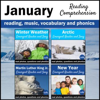 January  Vocabulary Book Bundle