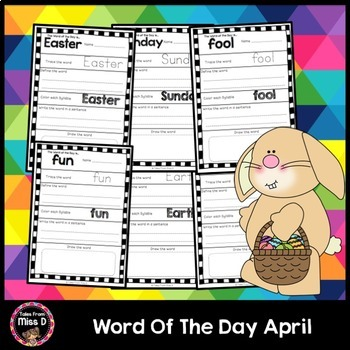 Word of the Day April