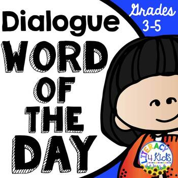 Dialogue Word of the Day