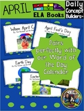 April Word of the Day ELA Books and Songs