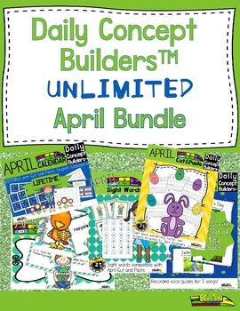 April Literacy Bundle
