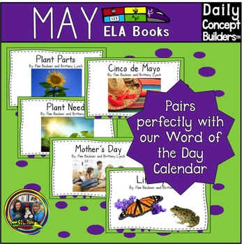 Word of the Day May ELA Book Bundle