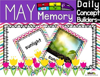 Word of the Day May Memory Game
