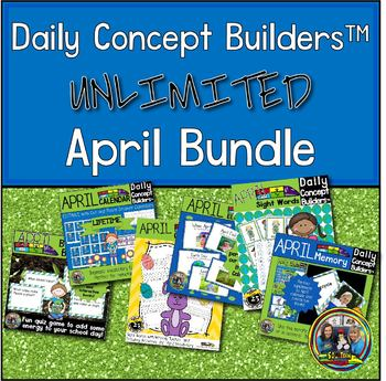 April Literacy Activities for First Grade