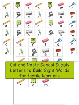 Word of the Day August Sight Word Center