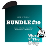 Word of the Day - Week #10