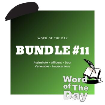 Word of the Day - Bundle #11
