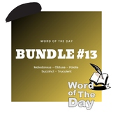 Word of the Day - Bundle #13