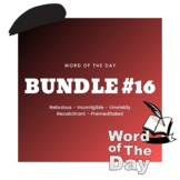 Word of the Day - Bundle #16