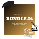 Word of the Day - Bundle #2
