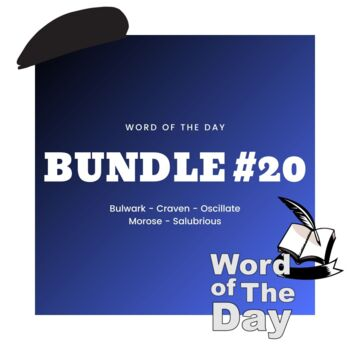 Word of the Day - Bundle #20