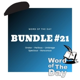 Word of the Day - Bundle #21
