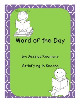 Word of the Day - Expanding Vocabulary