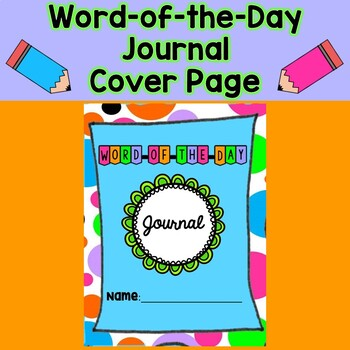 Word-of-the-Day Journal Cover