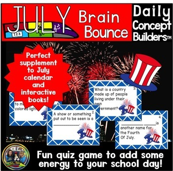 Word of the Day- July Brain Bounce