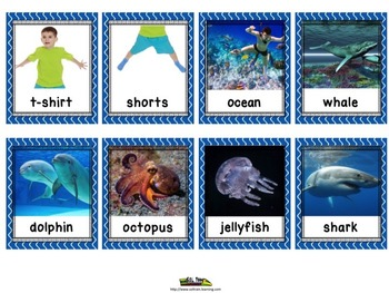 Summer Activities:  July Memory Game