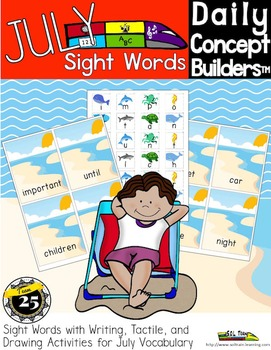 Word of the Day July Sight Word Center