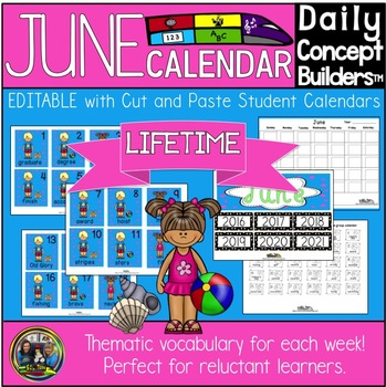 Word of the Day June Calendar