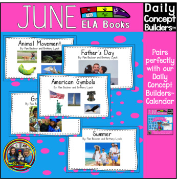 Word of the Day June ELA Book Bundle