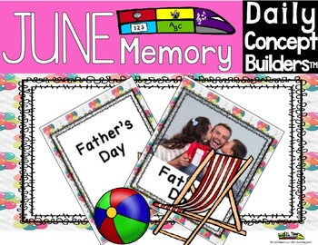 Word of the Day June Memory Game