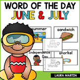 Word of the Day Journal | June and July