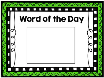 Word of the Day List #2