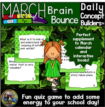 Word of the Day March Vocabulary Game