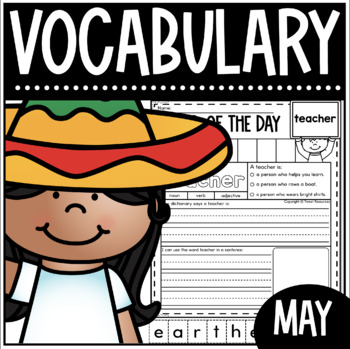 May Word Of The Day {Dictionary Skills}