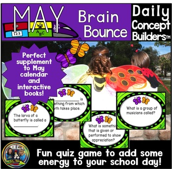 Word of the Day May Vocabulary Game