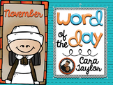 Word of the Day November
