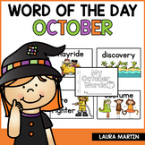 Word of the Day Journal | October