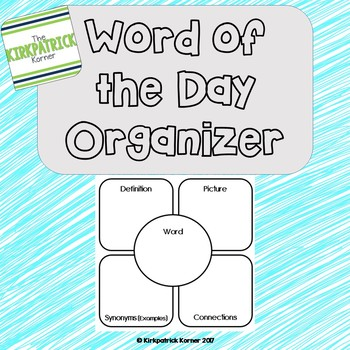 Word of the Day Organizer