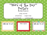Word of the Day Posters (Freebie!)